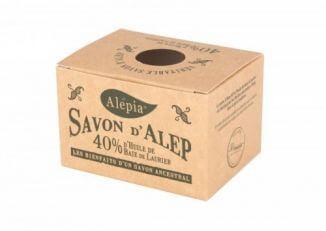 ALEPIA Mydło Aleppo 40% oleju laurowego 190g